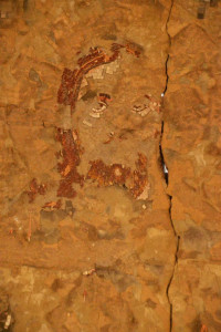 Fresque Eglise egyptienne Copyright V Gelot